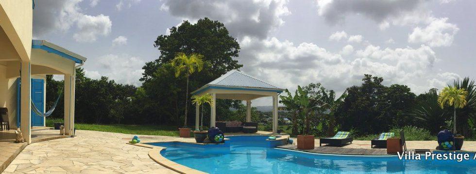 Villa – PETIT-BOURG – vue dégagée