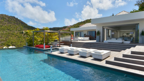 SAINT-BARTH VILLA LUXE CONTEMPORAINE