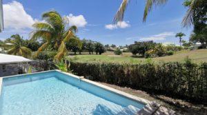 Rare : maison + piscine sur Golf – Saint-François