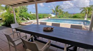 Villa vue mer – 5 chambres – Deuxième ligne lotissement prisé St-François