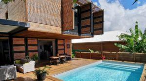 Superbe villa contemporaine neuve avec piscine – Saint-François